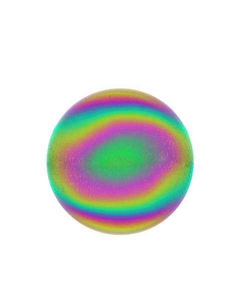 Wavelength Photograph - Soap Bubble by David Parker