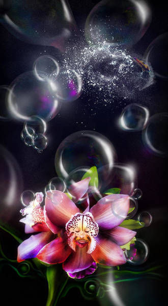 Digital Art - Soap Bubbles by Alessandro Della Pietra