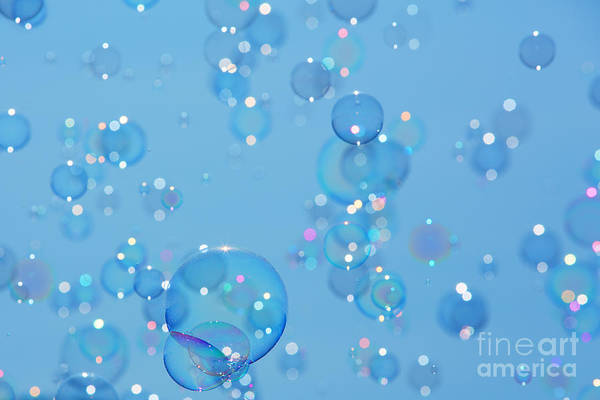 Orb Photograph - Soap Bubbles by Jane Rix