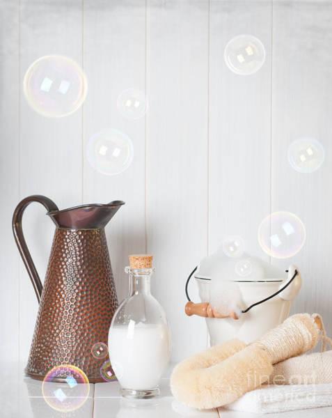 Bubble Bath Photograph - Soap Suds by Amanda Elwell