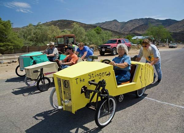 Small Town Photograph - Soapbox Derby by Jim West