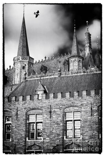 Wall Art - Photograph - Soaring In Bruges by John Rizzuto