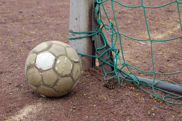 Photograph - Soccer Ball And Goal by Matthias Hauser