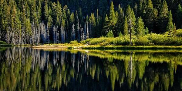 Photograph - Socher Lake Panorama by Lynn Bauer