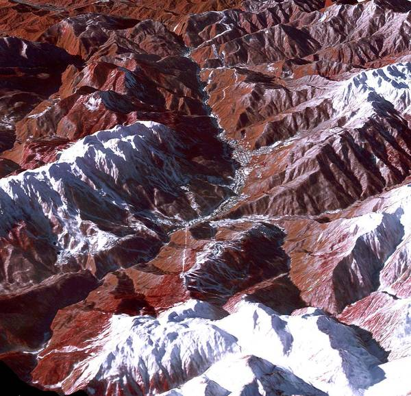Wall Art - Photograph - Sochi Winter Olympics by Nasa/gsfc/meti/ersdac/jaros/us-japan Aster Science Team