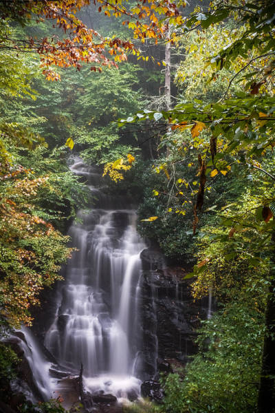 Art Print featuring the photograph Soco Falls by Francis Trudeau