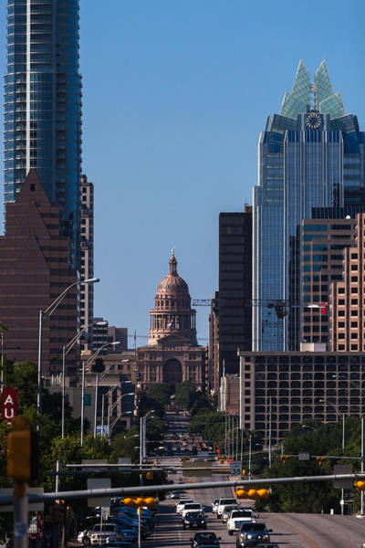 Photograph - So Co View Of The Texas Capitol by Ed Gleichman