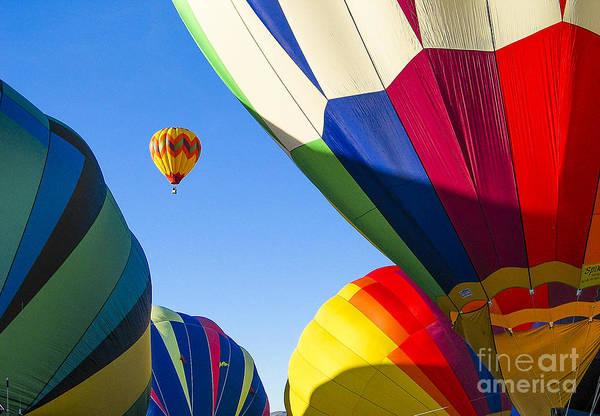 Photograph - Socorro Balloon Fiesta by Steven Ralser