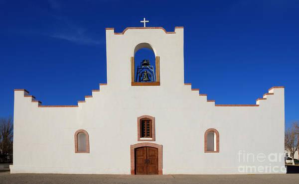 La Purisima Mission Photograph - Socorro Mission La Purisima Texas by Bob Christopher
