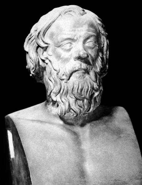 Wall Art - Painting - Socrates (470?-399 B by Granger