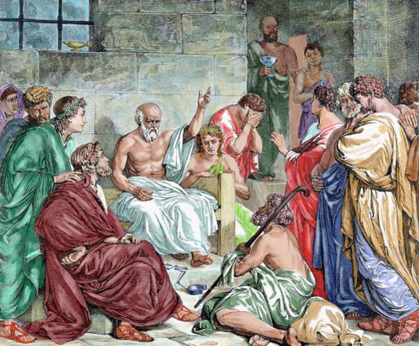 5th Photograph - Socrates (c 469-399 Bc by Prisma Archivo