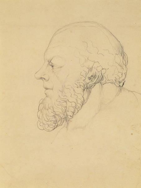 William Blake Drawing - Socrates by William Blake
