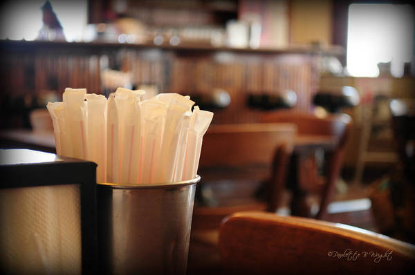 Photograph - Soda Straws by Paulette B Wright