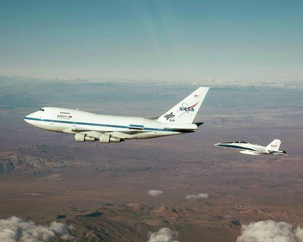 Sofia Photograph - Sofia Airborne Observatory In Flight by Nasa/carla Thomas/science Photo Library