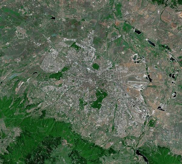 Sofia Photograph - Sofia by Mda Information Systems/science Photo Library
