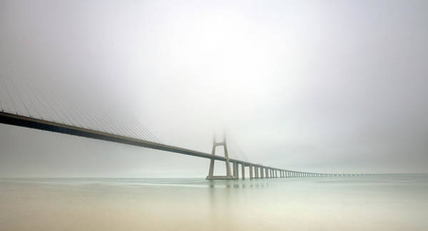 Wall Art - Photograph - Soft Bridge by Jorge Feteira