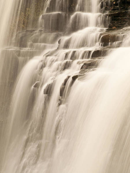 Shannon Falls Wall Art - Photograph - Soft Flow by Shannon Workman