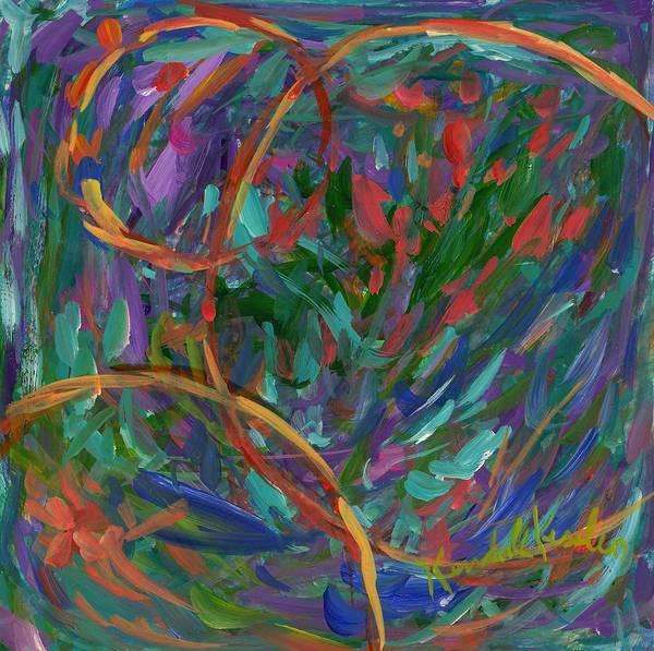 Painting - Soft Geometry by Kendall Kessler