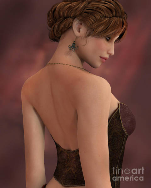 Digital Art - Soft Portrait by Elle Arden Walby