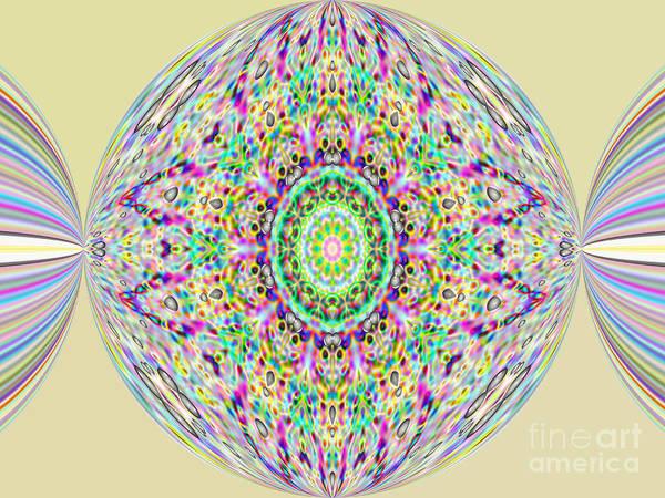 Softness. Art. Yellow Pink Design Art Print