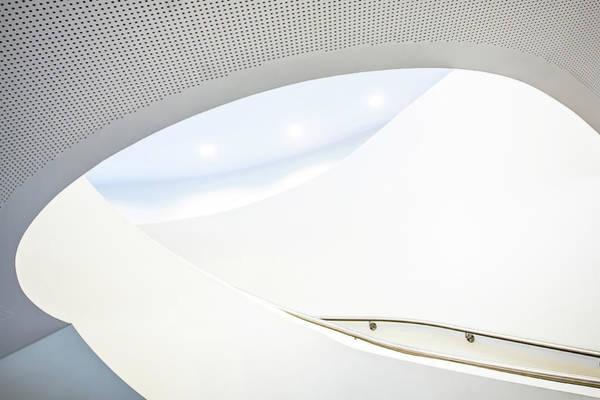 Spot Wall Art - Photograph - Softtone Stairs by Jan Niezen