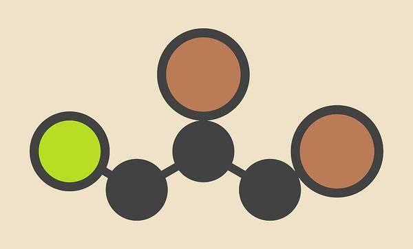 Contamination Photograph - Soil Fumigant Molecule by Molekuul