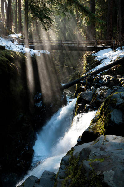 Ecosystem Photograph - Sol Duc Falls, Olympic National Park by Art Wolfe