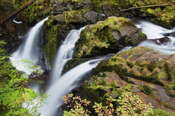 Ken Photograph - Sol Duc Falls, Olympic National Park by Ken Archer