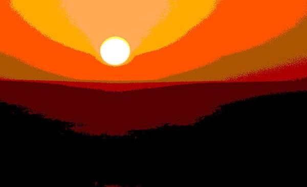 Solarized Photograph - Solar Abstract by Salvador Maria Lozada