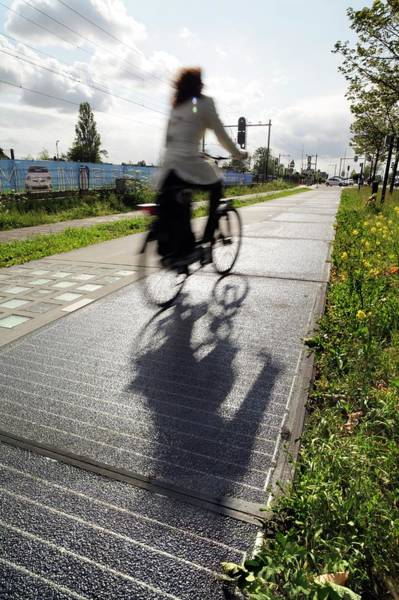 Technological Photograph - Solar Cycle Path by Martin Bond