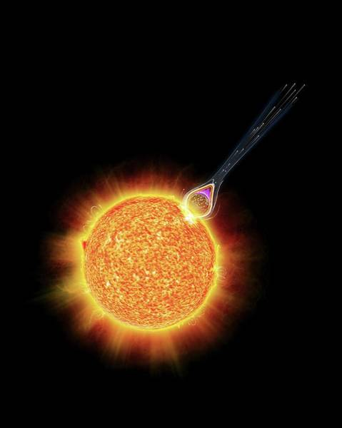 Wall Art - Photograph - Solar Flare by Claus Lunau/science Photo Library