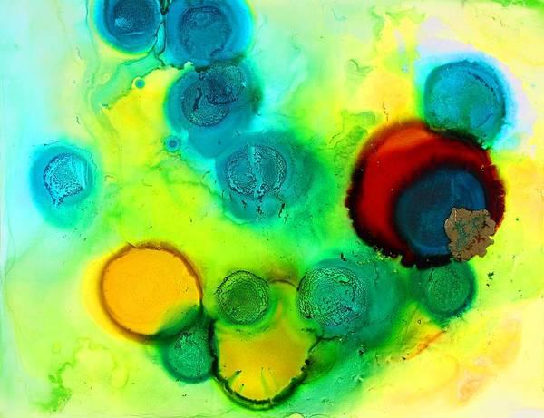 Painting - Solar Flare by Tara Moorman