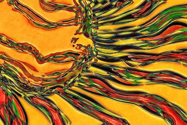 Wall Art - Digital Art - Solar Glow by David G Paul