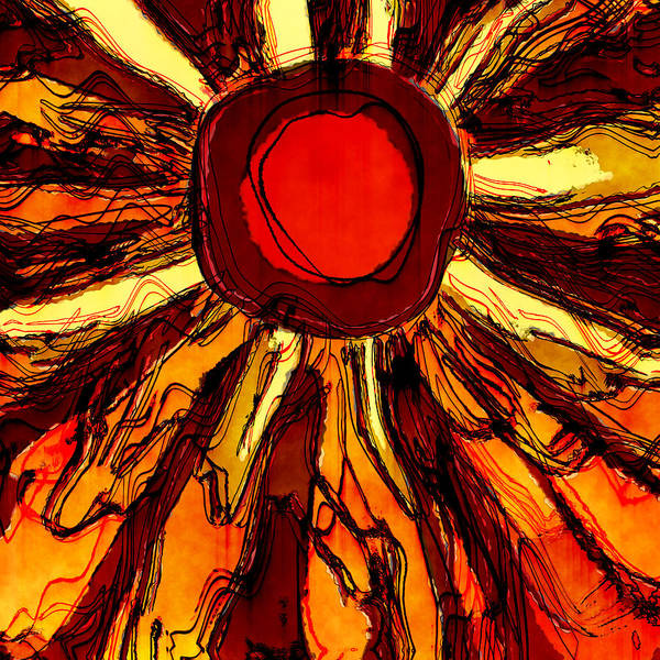 Wall Art - Digital Art - Solar Heat by David G Paul