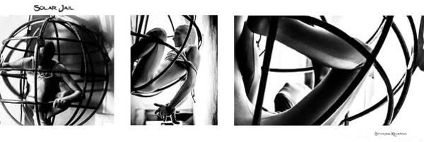Photograph - Solar Jail Triptych by Stwayne Keubrick