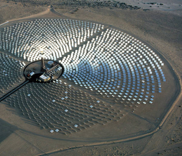 Solar Panels Photograph - Solar One by Peter Menzel/science Photo Library