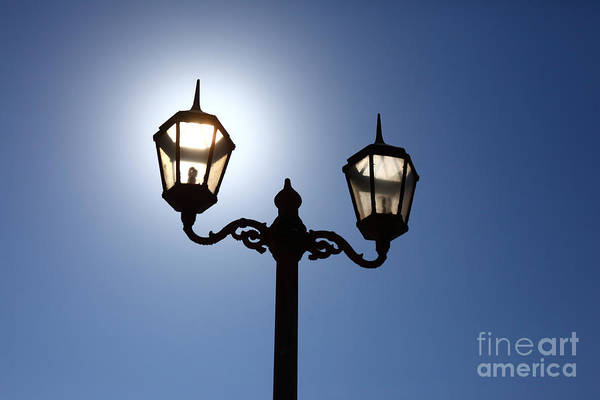 Photograph - Solar Powered Lighting by James Brunker