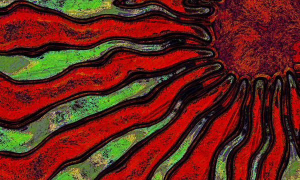 Wall Art - Digital Art - Solar Trance by David G Paul