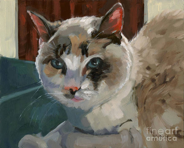 Painting - Sold -nelly Logan by Nancy  Parsons