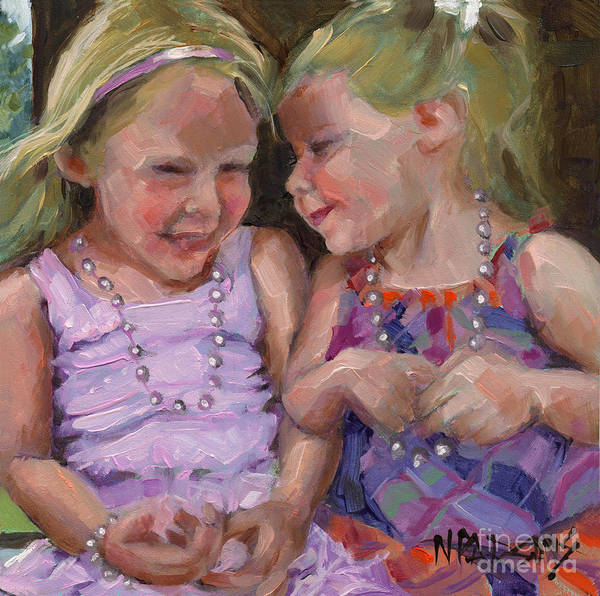 Sold Silly Sister Secrets Art Print