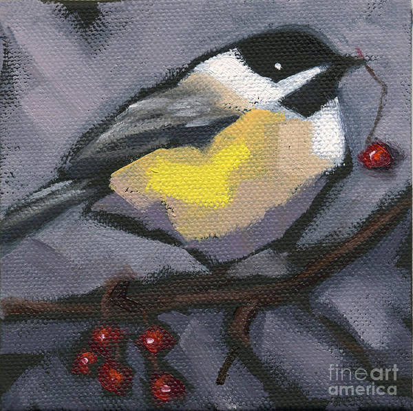 Painting - Sold Thanks-giving Bird by Nancy  Parsons