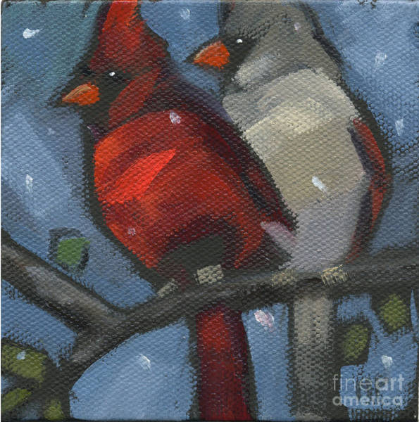 Painting - Sold We Are Family by Nancy  Parsons