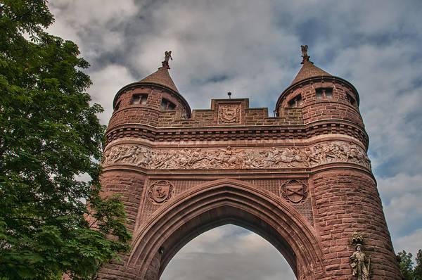 Photograph - Soldiers And Sailors Memorial Arch by Guy Whiteley