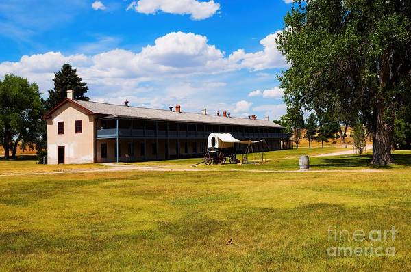 Photograph - Soldiers Barracks by Jon Burch Photography