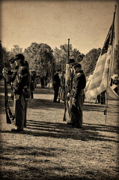 Photograph - Soldiers In Formation by Bill Cannon