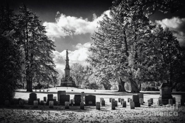 Gettysburg Address Wall Art - Photograph - Soldiers National Cemetery - Gettysburg by Paul W Faust -  Impressions of Light