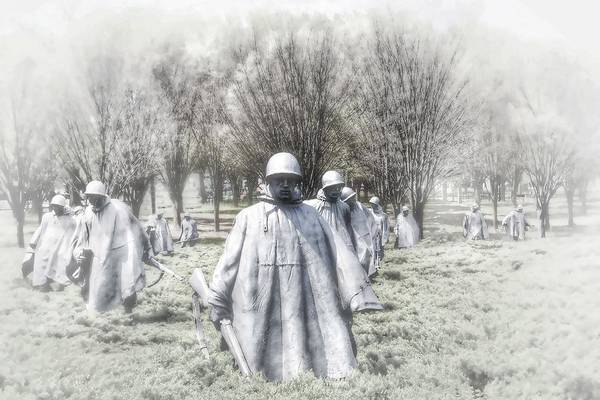 Photograph - Soldiers Of The Korean War by Kathy McCabe