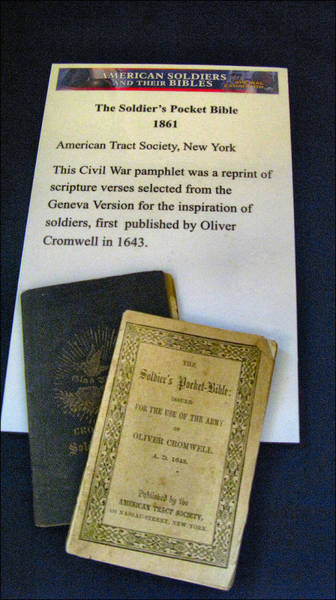 Photograph - Soldiers Pocket Bible by Glenn Bautista