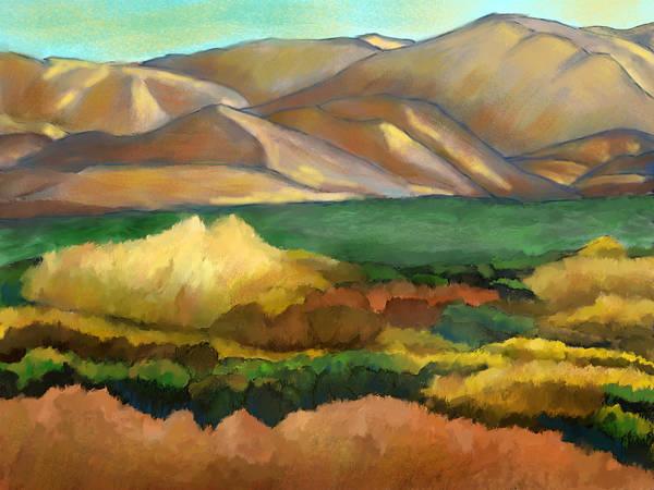 Canyon Mixed Media - Soledad Canyon Sunset by Karen Sperling