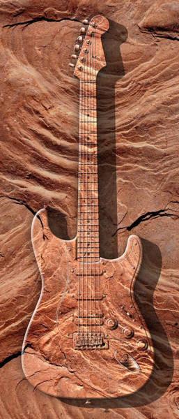 Stratocaster Photograph - Solid As A Rock Panoramic by Mike McGlothlen